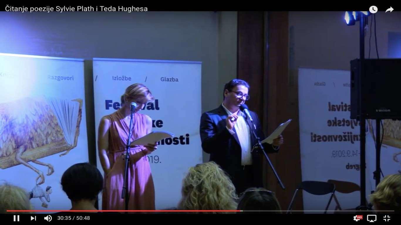 Čitanje poezije Sylvie Plath i Teda Hughesa