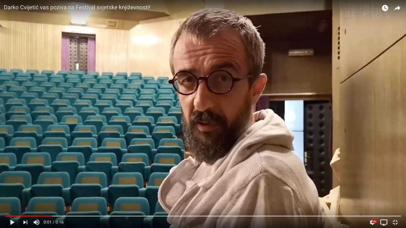 Darko Cvijetić vas poziva na Festival svjetske književnosti u Splitu!