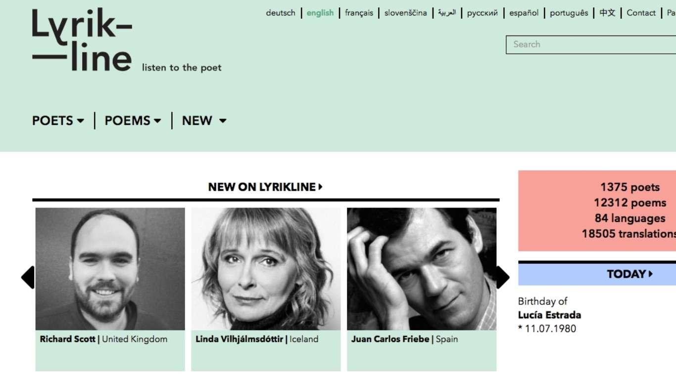 20 godina Lyriklinea: Christiane Lange, Thomas Wohlfahrt, Jan Wagner, Zvonko Maković i Tomica Bajsić