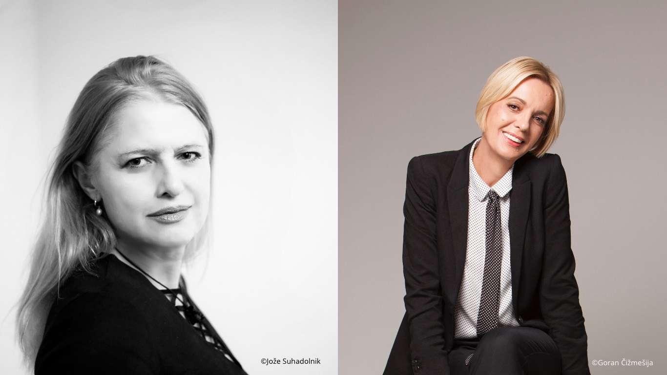 Double Portrait: Mojca Kumerdej and Marina Vujčić