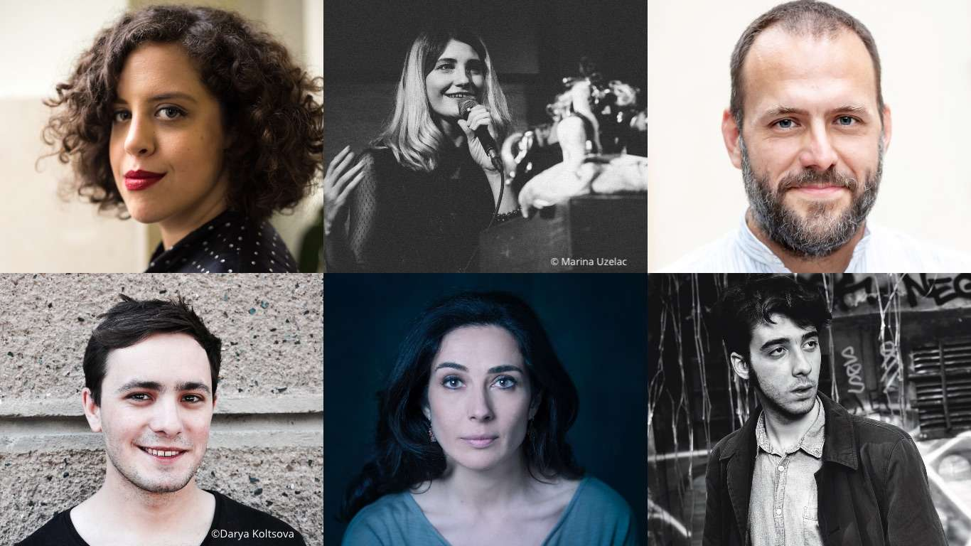 Emerging Writer on Tour: Myroslav Laiuk, Cristina López Barrio, Luiza Bouharaoua, Dinko Kreho, Marija Dejanović