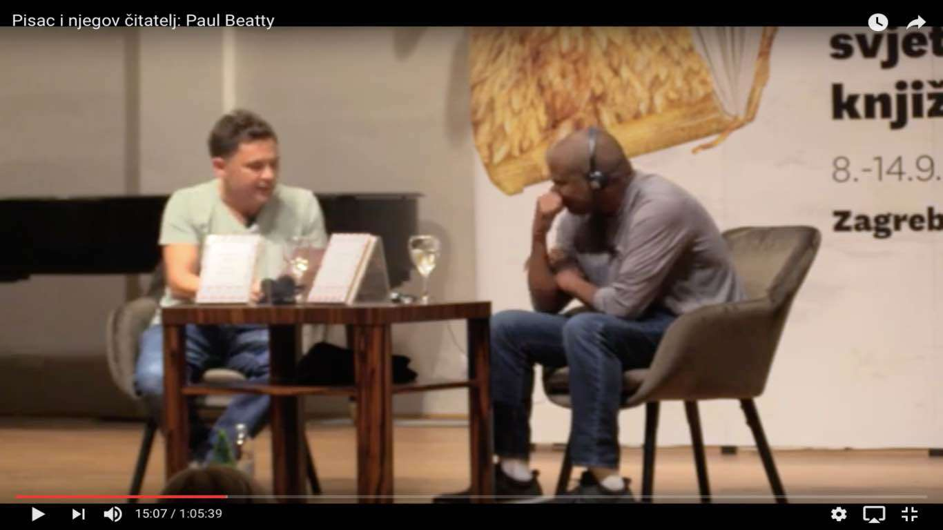 Pisac i njegov čitatelj: Paul Beatty